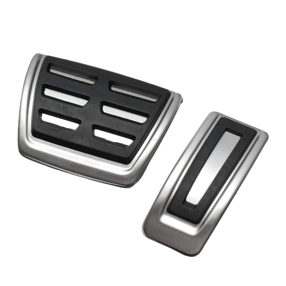 2 cubiertas antideslizantes para pedales de freno de combustible ...