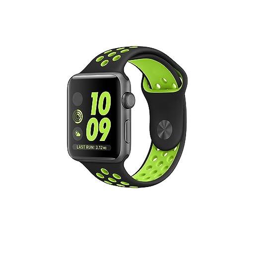 3 opinioni per (Recente)Cinturino Apple Watch Nike Band 38mm/42mm, Kobwa Morbido Leggero