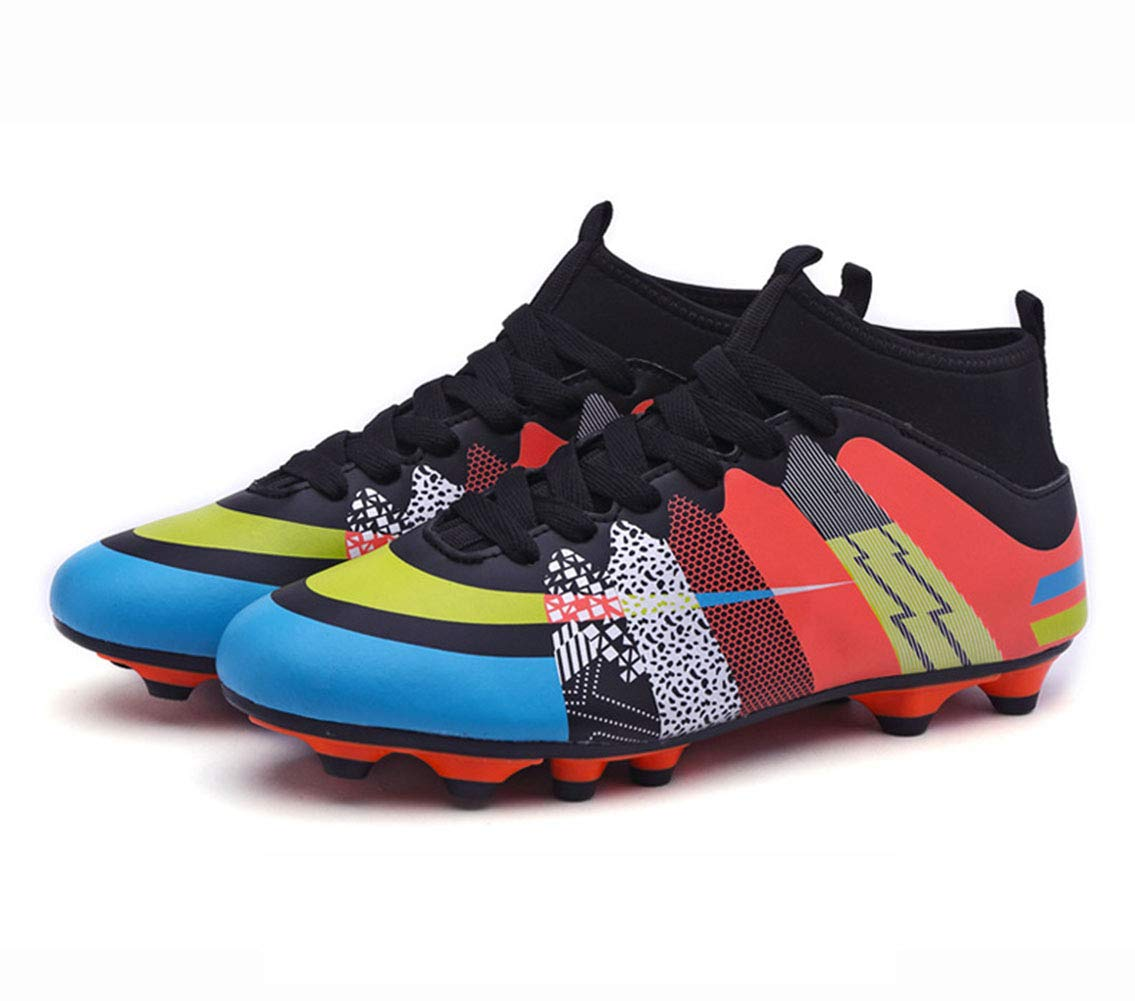 75bfbbcb4 Amazon.com  HRN Men s Soccer Shoes Long Nails Breathable Training Shoes  lace up Broken Nails Youth Competition Sports Shoes Turf  Sports   Outdoors