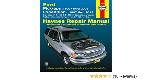 Ford pick ups 1997 2004 expedition lincoln navigator 1997 2012 ford pick ups 1997 2004 expedition lincoln navigator 1997 2012 repair manual haynes repair manual haynes 9781620920527 amazon books fandeluxe Gallery