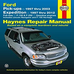 ford pick ups 1997 2004 expedition lincoln navigator 1997 2012 rh amazon com chilton ford f150 repair manual pdf free haynes ford f150 repair manual pdf