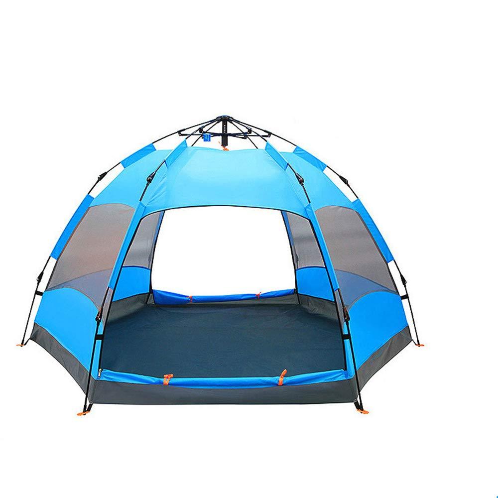 Boonlig Sechseckiges, automatisches Zelt für 4-5 Personen, winddichtes und regendichtes Zelt B07P7H9HKM Wurfzelte Angenehmes Aussehen