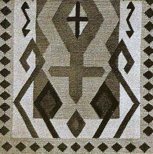 (Navajo Indian Ceremonial Blanket Crochet Afghan Pattern)