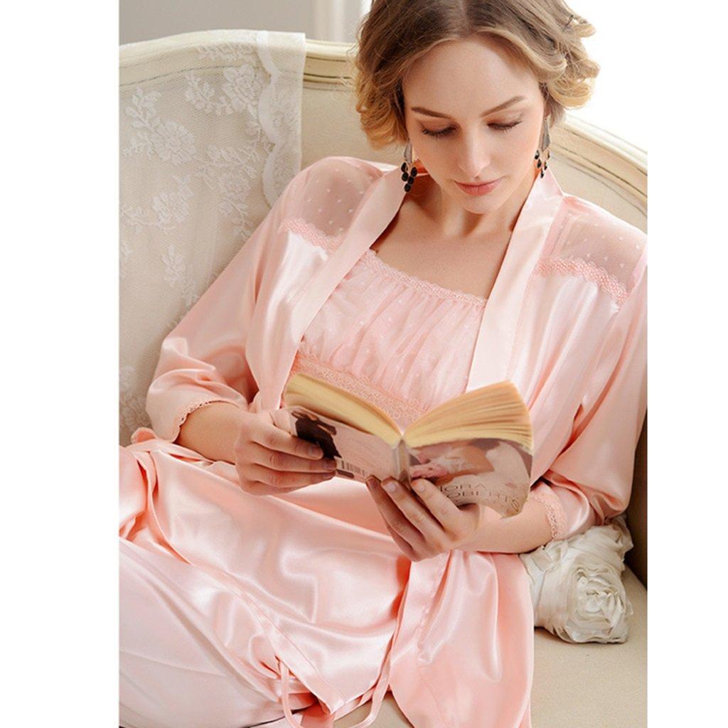 Women (Color - pajamas ALUK- europeo Pijama sexy estilo de encaje ...