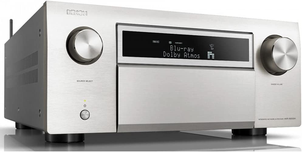 Denon AVR-X8500HSP 13.2-Channel AV Receiver (Silver)