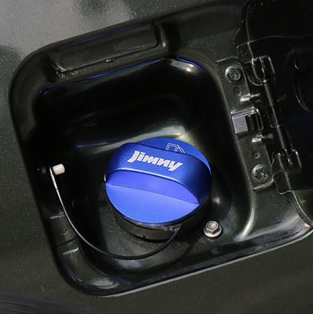 AniFM Couvercle de d/écoration de r/éservoir de Carburant de Bouchon de r/éservoir dhuile de Voiture en Alliage daluminium pour Suzuki Jimny JB74 2019 Style de Voiture,Red