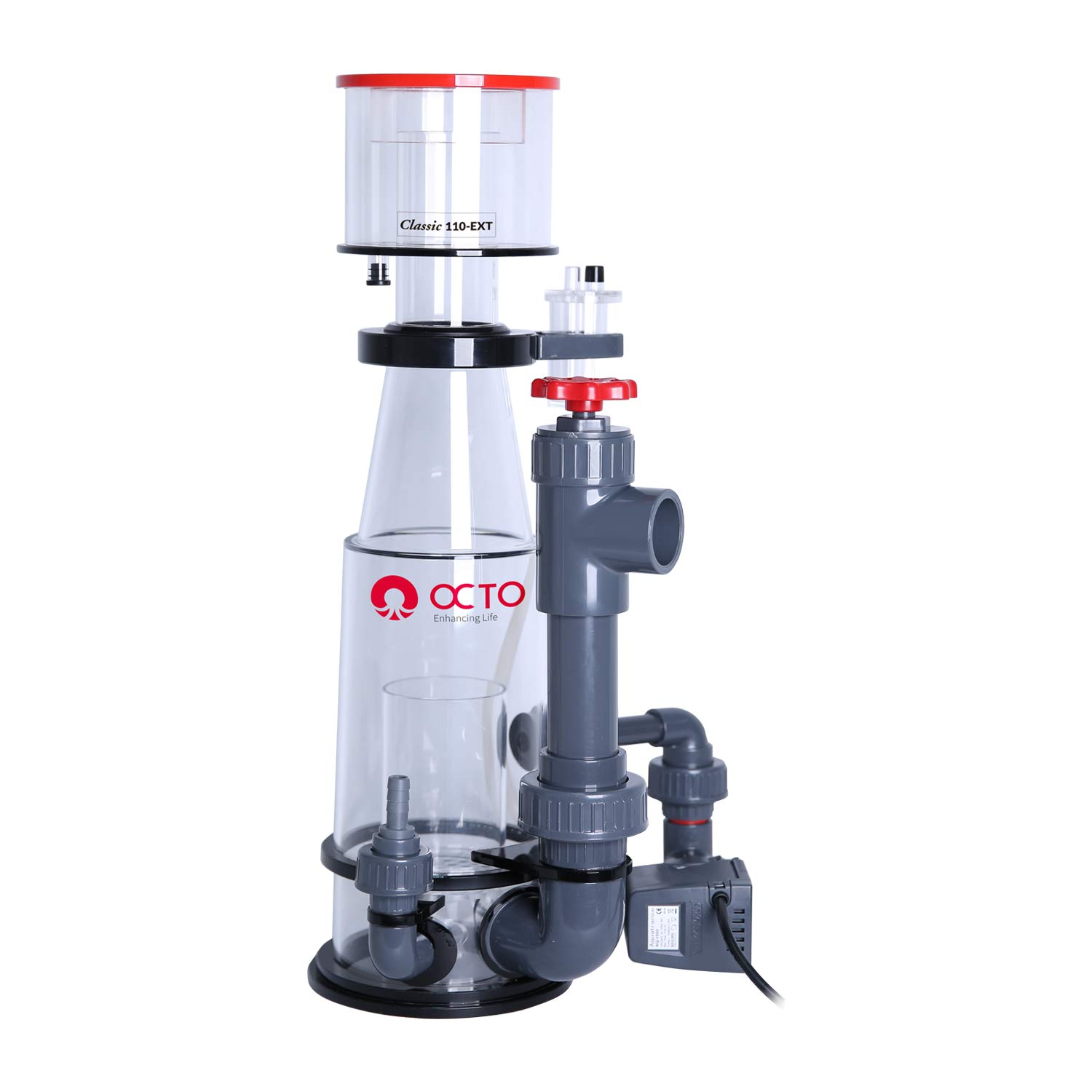 Reef Octopus Classic 110-INT Needle Wheel Protein Skimmer for Aquarium by Reef Octopus