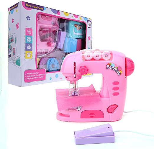 Qinlorgo Toy Kid Sewing Machine, Electric Sewing Machine Toys ...