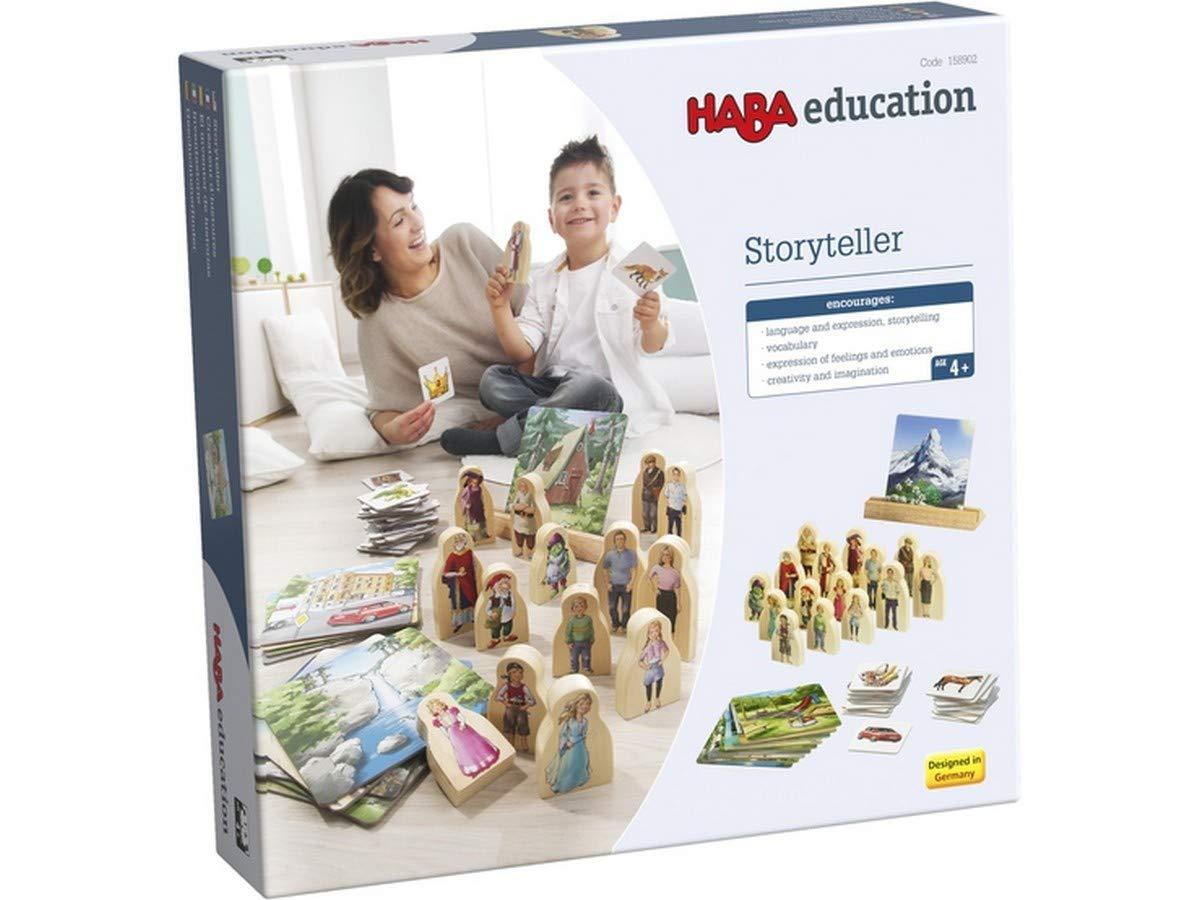 HABA Education 158902 Storyteller Game Set