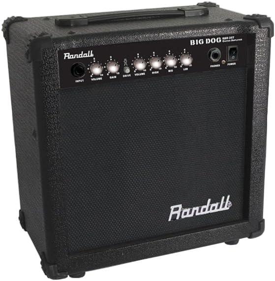 Randall usm-rbd25te amplificador combo para guitarra eléctrica 25 ...