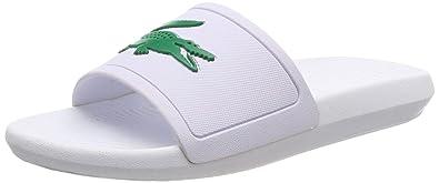 30f88d87131 Lacoste Croco Slide 119 1 CMA Sandales Bout Ouvert Homme  Amazon.fr ...