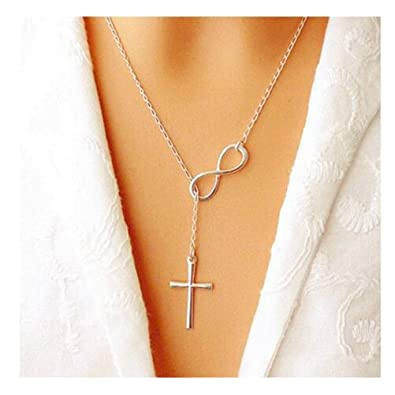 infinity all cross tiny initial listing il heart with necklace and