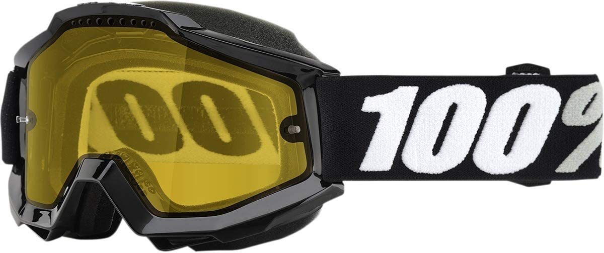 100% Accuri Tornado Yellow Lens Snowmobile Goggles