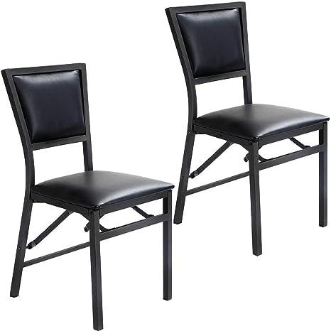 Amazon.com: Diamondgift - Juego de 2 sillas plegables de ...