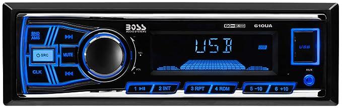 61Koo28am2L._SX679_ amazon com boss audio 610ua multimedia car stereo single din, mp3