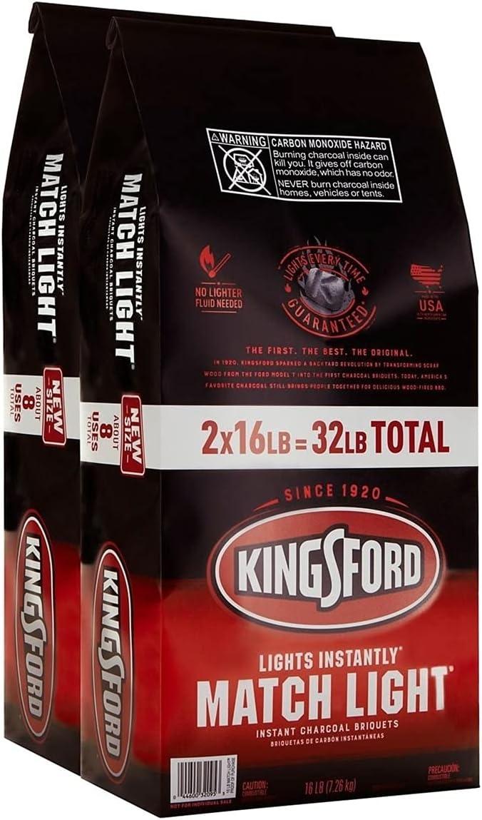 Kingsford Match Light 12 Lb Briquets Charcoal 32090-1 Each