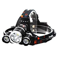 InnoGear 5000 Lumen Bright Headlight Headlamp Flashlight