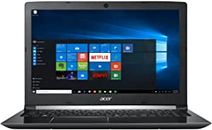 "Acer Aspire 5 15.6"" FHD 1080 i7-7500U 8GB RAM 1TB HDD Windows 10, Obsidian Black, A515-51-75UY"