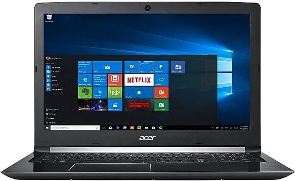 """Amazon.com: Acer Aspire 5 15.6"""" FHD 1080 i7-7500U 8GB RAM 1TB HDD Windows 10,  Obsidian Black, A515-51-75UY: Computers & Accessories"""