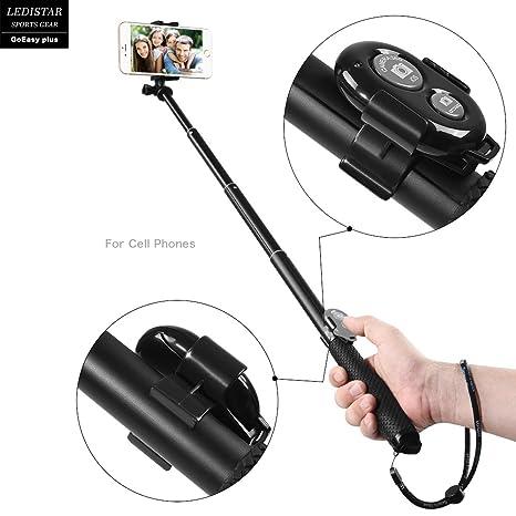 GoPro selfie stick, y & M (TM) GoPro profesional selfie stick con Bluetooth