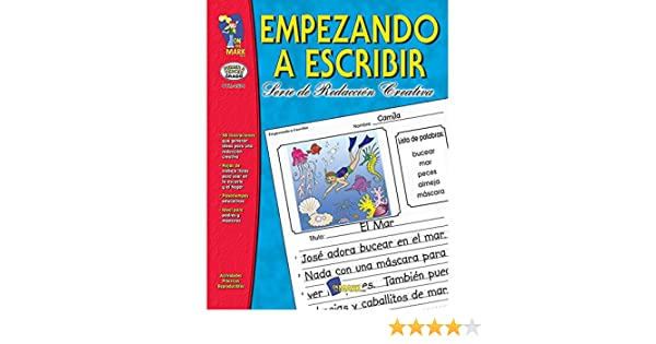 Amazon.com : On The Mark Press OTM2534 Empezando A Escribir 1-3 : Office Products