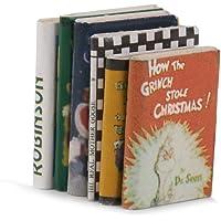 Decoracion de casa de munecas - libros