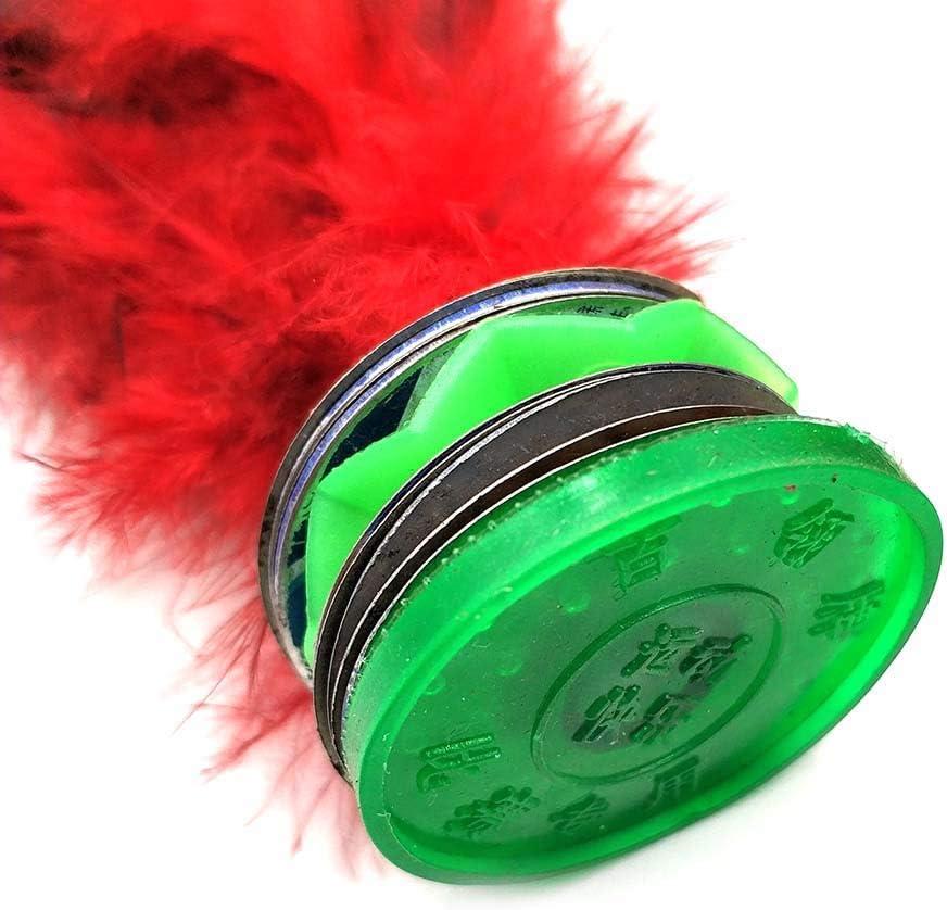 F/útbol la Patada Plumas B/ádminton Pavo Real Featherball Fun Outdoor Interior Competencia Deporte Colorido Chino Jianzi Kids Toy Fitness Ejercicio Para Piernas Tendencia Juego Libre Calle Juego 2/pcs