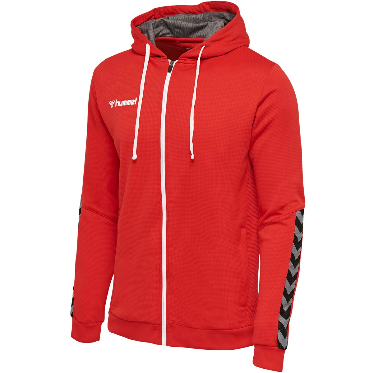 hummel Hmlauthentic Poly Zip Hoodie Sudadera con Capucha, Hombre ...