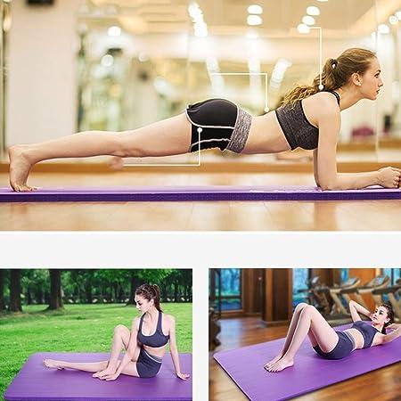BMY Colchonetas para Yoga 20 mm Colchoneta de Ejercicios de ...