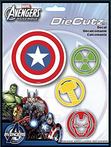 (CHROMA 40000 Marvel Avengers Assemble Die Cutz Decal)