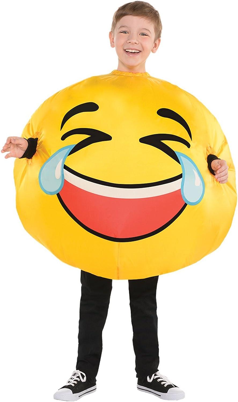 amscan Disfraz de Emoji Inflable de lágrimas de Risa para niños ...