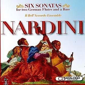 Nardini: 6 Sonatas for Two German Flutes & Bass