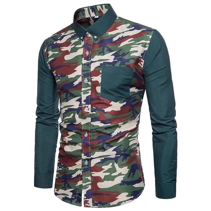Amazon.com: Camisas de vestir para hombre de estilo casual ...