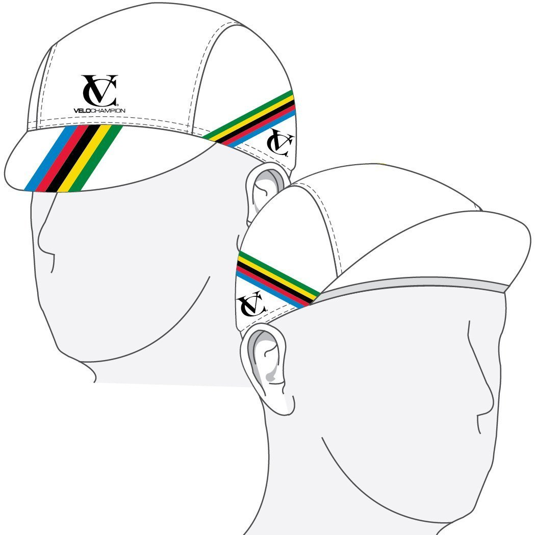 b63af635b10 VeloChampion Under Helmet Cycling Cap - World Cup Design - One Size   Amazon.co.uk  Sports   Outdoors