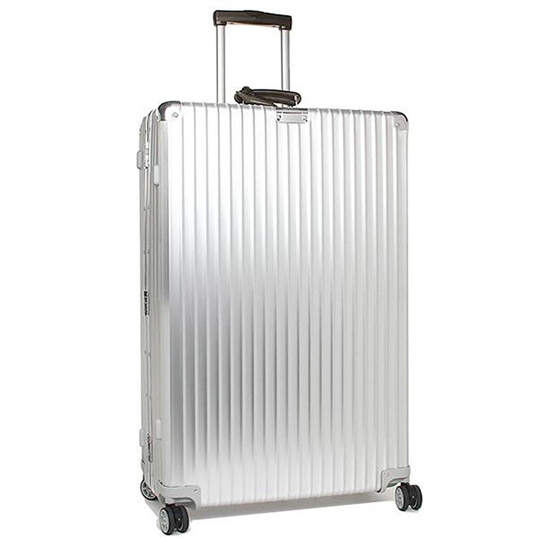 リモワ スーツケース レディース/メンズ RIMOWA 971.77.00.4 CLASSIC FLIGHT クラシックフライト 84.5CM 104L 4輪 TSAロック付き キャリーケース SILVER [並行輸入品] B01BL565RO