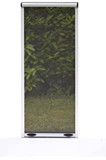 Mosquitera enrollable para puerta, horizontal, tamaño 160 x 250 cm ...