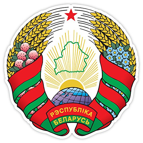 - Belarus coat of arms sticker decal 4