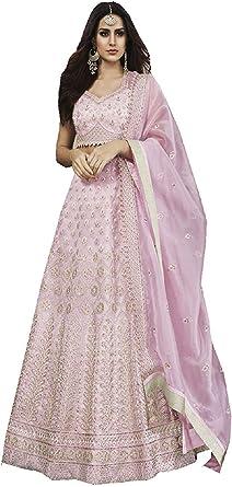Partywear Indian Pakistani Stylis Ethnic Party Stitch Kurti Dress 40 Inch Chest