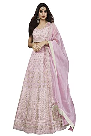 a870ac54e Amazon.com: stylishfashion Bollywood Designer Pakistani/Indian Wedding Party  Wear Choli Style Salwar Kameez Ready to Wear Salwar Suit: Clothing