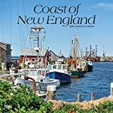 Coast of New England 2019 12 x 12 Inch Monthly Square Wall Calendar, USA United States of America Scenic Nature Ocean Sea Coast