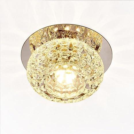 Cristal Lámparas de techo, Corredor Espejo Lámpara de techo ...