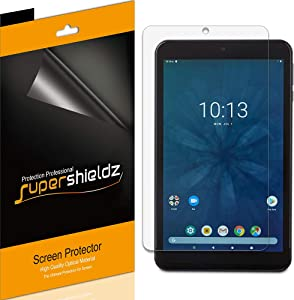 (3 Pack) Supershieldz for Onn 7 inch Tablet Screen Protector, High Definition Clear Shield (PET)