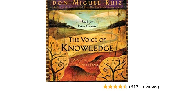 Amazon The Voice Of Knowledge A Practical Guide To Inner Peace