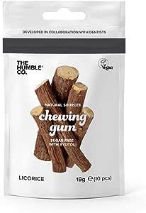 Humble Chewing gum Salty licorice - Goma para masticar (4 unidades ...
