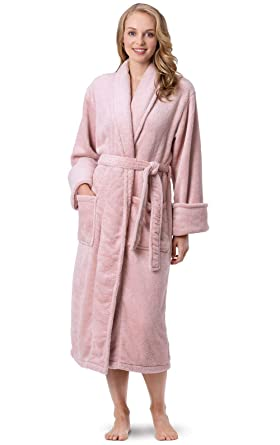 35b6410680 PajamaGram Fleece Robes for Women - Plush Bath Robe Womens at Amazon ...