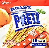 Glico Pretz Roast Baked Snack Sticks, 6.35 Ounce