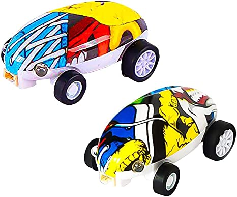 Micro Racers Micro Cars Toys Mini Racers Spinning Cars Toy ...