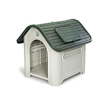 YNZYOG Suministros De Mascotas Casa De Mascotas Al Aire Libre Perrera De Plástico Cobertizo De Ocultar Animales Nido De Gato Fosa Impermeable Fácil De ...