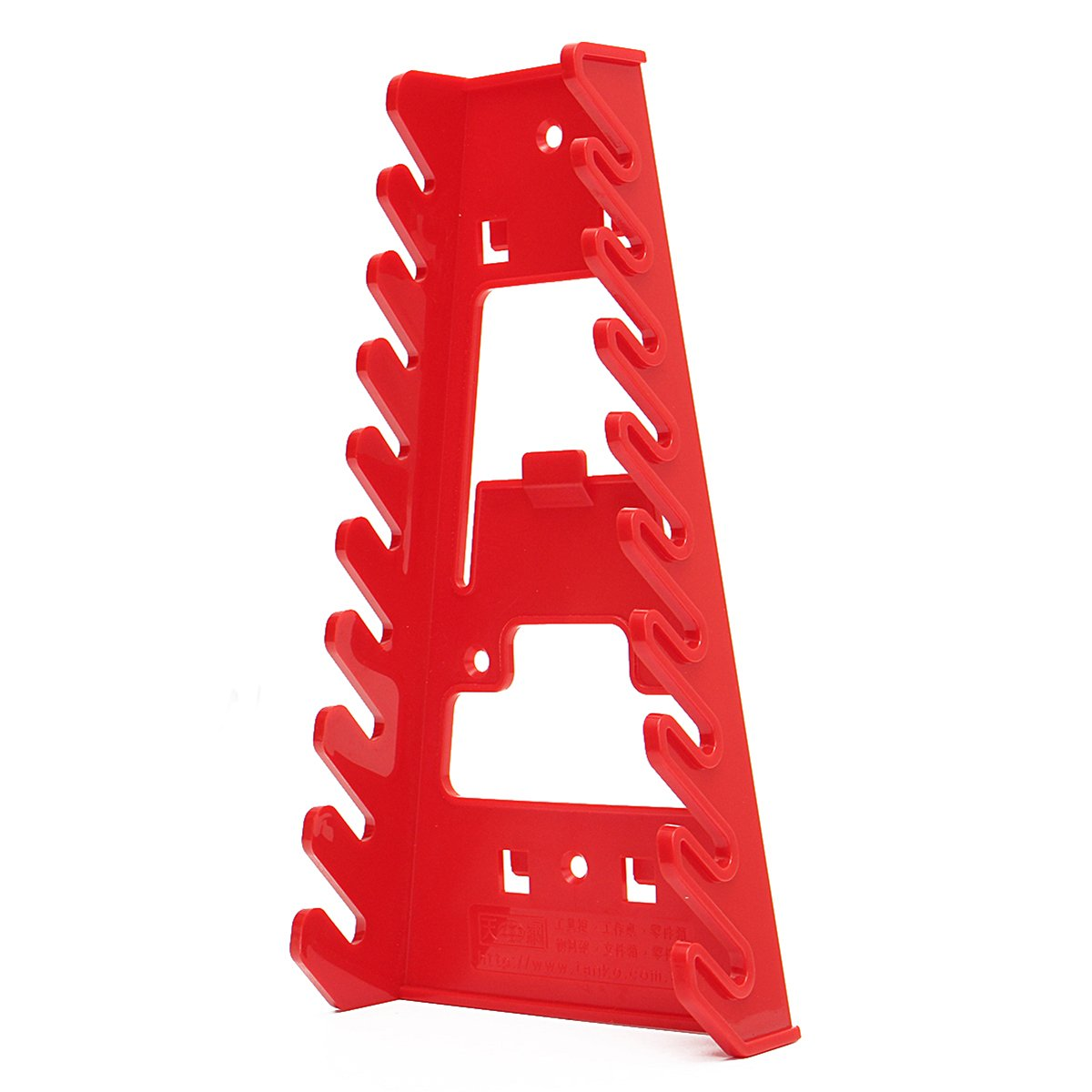RanDal 22X12X6Cm Llave Roja Soporte Para Llave De Rack Llave De Almacenamiento Organizador Herramientas