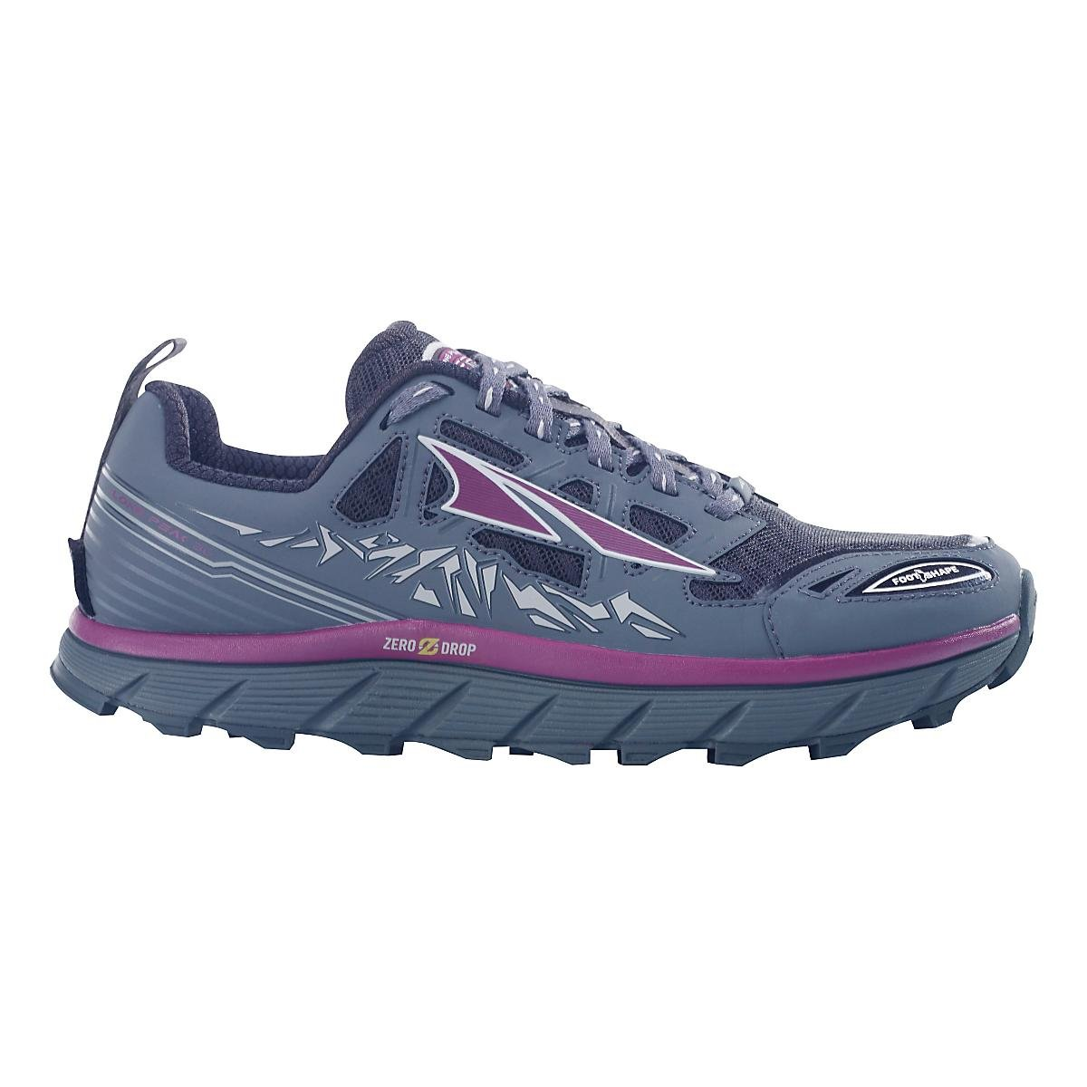 Altra Women's Lone Peak 3 Trail Runner, Purple, 8 M US by Altra